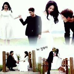 photoshoot <3 Hong Jong Hyun, We Get Married, Mbs, Wedding Photoshoot, Jonghyun, Korean, Couples, Movies, Movie Posters