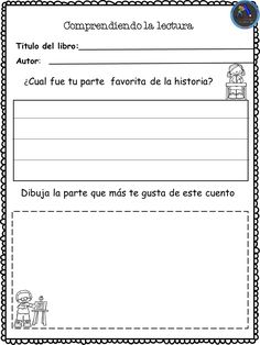 Collection of cards to work the description of a story - Learn Spanish Bilingual Education, Preschool Education, Dual Language Classroom, 4th Grade Writing, Reading Material, Working With Children, Learning Spanish, Spanish Class, Reading Comprehension
