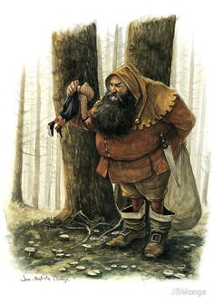 The Hungry Ogre - by  Jean Baptiste Monge