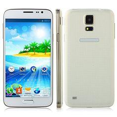 "DOOGEE VOYAGER2 DG310 5"" IPS FWVGA Screen MTK6582 1.3GHz Quad core Quadband Dual SIM Dual Standby Anroid4.4 RAM 1G ROM 8G Cellphone Mobile Phone 3G Phone Smartphone with Smart Wake WiFi 5.0MP 13.0MP Camera GPS Bluetooth 4.0 (White) Doogee http://www.amazon.com.mx/dp/B00N7E9YD0/ref=cm_sw_r_pi_dp_4Ymawb004DE2M"