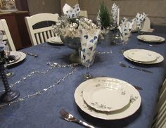 Table set for Winter Solstice