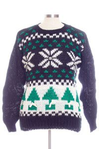 Black Ugly Christmas Pullover 29056