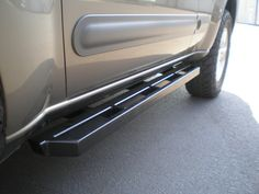 Built on the solid foundation of our Xterra Standard Rockrails, we add an addtional… T3 Camper, Off Road Camper Trailer, Trailer Build, Cool Truck Accessories, Truck Accesories, Vw Syncro, Vw Amarok, Truck Running Boards, Toyota Land Cruiser Prado