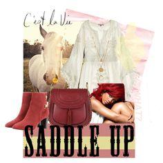 """""""saddle up 2"""" by arumwachyuni ❤ liked on Polyvore"""