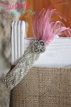 The Great Gatsby Couture Garter set/ Wedding by SouthernEverAfter, $79.99