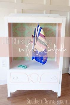DIY Tales: Repurposing an Old Chest of Drawers