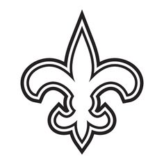 New Orleans Saints vinyl decals | New Orleans Saints NFL Die Cut Vinyl Decal PV611