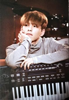 He looks so perfect #WONPIL #DAY6