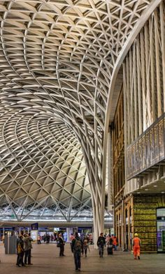 Kings Cross train Station, London, UK