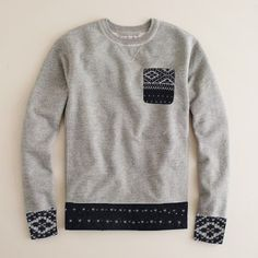 Pocket pullover (jumper)
