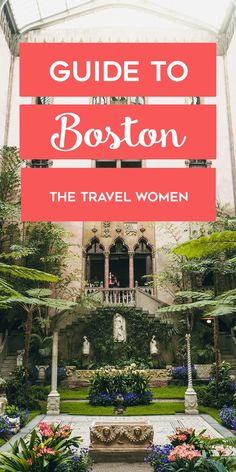 The Ultimate Guide to Boston - where to eat in Boston, where to stay in Boston, what to do in Boston and much more. Boston, Massachusetts is New England's epicenter for culture and cuisine. Walk through Boston's picturesque cobblestone streets, past its h