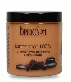 Koncentrat antycellulit BingoSpa kofeina cynamon