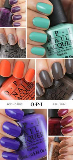 What better way to get in an autumn state-of-mind than with the new nail polish collection from @opiproducts? Inspired by the great Northern Lights in Finland, deep blue Norwegian Fjords and colorful houses along the canals of Copenhagen, you can get the #OPINordic collection at ULTA!