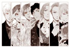 Axis Powers: Hetalia, Prussia, Noth Italy, South Italy, Spain, France, Germany, Russia
