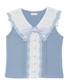 ノースリーブ衿トップス|渋谷109で人気のガーリーファッション リズリサ公式通販