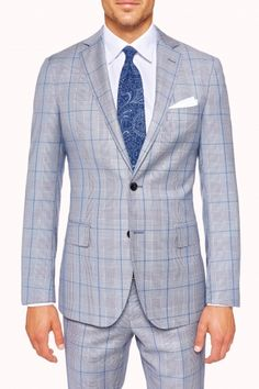 Levens Blue Suit - $899, MJ Bale Brisbane
