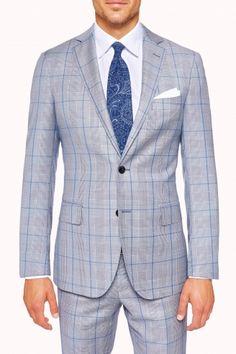 Levens Blue Suit - $899, MJ Bale Brisbane