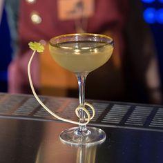 Sésame ouvre-toi, par Jennifer Le Nechet, du Café Moderne. #cocktail #mixologie #mixology #recette #recipe #spiritueux #spirits