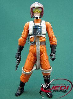 Star Wars Action Figure John D. Branon (Rebel Pilot Legacy III), Star Wars The Legacy Collection