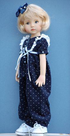 Dianna Effner 13 Little Darling vinyl doll by Kuwahidolls on Etsy Sewing Doll Clothes, Baby Doll Clothes, Doll Clothes Patterns, Clothing Patterns, Pretty Dolls, Cute Dolls, Beautiful Dolls, American Girl Outfits, Vinyl Dolls