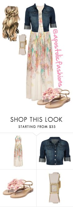 """""""Apostolic Fashions #1760"""" by apostolicfashions ❤ liked on Polyvore featuring Ted Baker, Rupert Sanderson and Kate Spade"""