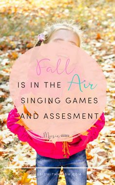 Fall is certainly in the air here in North Carolina. While the days are still hot and sunny, mornings are crisp and cool. With this in mind, I thought it would be fun to sing about the change in seasons with my kindergartners! Sight Singing, Singing Games, Thanksgiving Songs, Folk Dance, Elementary Music, Music Classroom, Teaching Music, Music Education, My Teacher