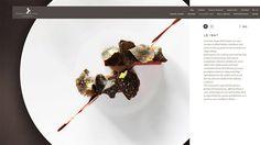 Cheval Blanc Randheli Hotel Page Web Design, Food Design, Yannick Alléno, Plate Presentation, Food Decoration, Molecular Gastronomy, Plated Desserts, Chocolate Desserts, Gastronomia