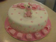 Τούρτες Γενεθλίων - Ροζ αρκουδάκι 3D - #sugarela #TourtesGenethlion #arkoudaki #pink #bear #3D #BirthdayCakes