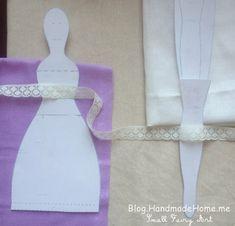Handmade Home Blog - A Magic Tiny Workroom: How To Sew Tilda Angel Doll - Detailed Tutorial