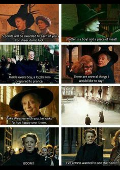 They could not have found a better actress to play her! Dame Maggie Smith is a queen playing a queen in the Harry Potter movies. Images Harry Potter, Harry Potter Quotes, Harry Potter Fandom, Harry Potter World, Hp Quotes, Queen Quotes, Buffy, Lito Rodriguez, As Nancy