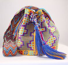 One of a Kind Nativo Style Large Happiness Wayuu by NativoStyle
