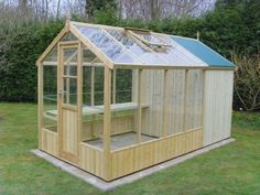Foto Results 20 x 10 garden shed greenhouses in ohio Wooden Greenhouse Building Plans . Backyard Greenhouse, Small Greenhouse, Greenhouse Plans, Greenhouse Wedding, Greenhouse Shed Combo, Pallet Greenhouse, Homemade Greenhouse, Wooden Greenhouses, Green House Design