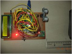 Angle and Distance Measurement Device using Arduino