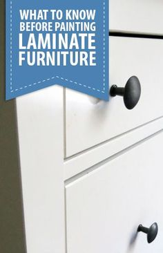 I've been asked by lots of people if it's ok to paint laminate furniture. It definitely is and there are...  Read more »