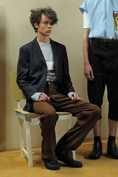 See the CMMN SWDN spring/summer 2016 menswear collection. Click through for full gallery