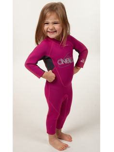 Another great wetsuit for keeping your toddler warm during swim lessons is the O'Neill Reactor toddler full wetsuit.  This wetsuit gives them full coverage and is made with 1.5mm neoprene for warmth.  Reviews from satisfied parents say no more shivering or blue lips!  $69.95. #isnorkel #wetsuits   iSnorkel.com | Kids Wetsuits > O'Neill Toddler Full 2010 Backzip