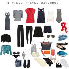 My Final Packing List for Italy on Polyvore