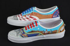 2f8bfdd8387cf4 Parker High School entry for the Local Flavor category in the Vans Custom  Culture contest.