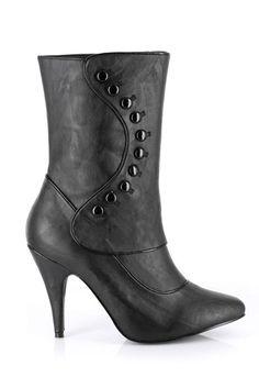 38ac7058c647 Schuh Stiefel, Viktorianisches Kostüm, Viktorianischen Stiefel, Gotik  Stiefel, Schwarze Schuhe, Schwarze