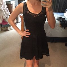 Black dress Good condition! Great dress for tea or a casual dinner! Or date night!! Dresses Mini