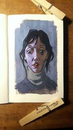 Sketchbook Inspiration, Painting Inspiration, Art Inspo, Art Sketches, Art Drawings, Arte Sketchbook, Guache, Art Portfolio, Portrait Art