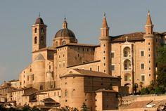 Palacio Ducal de Urbino -sitio de la Unesco el centro de Italia Marcas