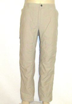 Dockers City Khaki Pants Mens 36 x 30 SLIM FIT Flat Front TAG ...