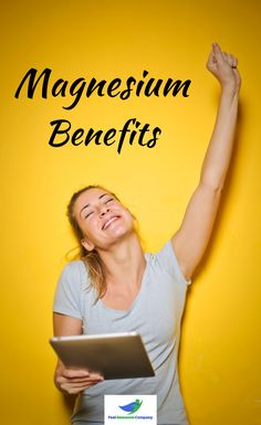 Magnesium health benefits and more! Magnesium is an essential mineral for good health and wellness. In this article you'll learn about the health benefits of magnesium, as well as some magnesium rich foods and magnesium deficiency symptoms. Discover the benefits of magnesium here! #magnesium #magnesiumbenefits #health #wellness #magnesiumdeficiency Magnesium Foods, Magnesium Deficiency Symptoms, Magnesium Benefits, Magnesium Supplements, Health Benefits, Bone Health, Brain Health, Women's Health, Health And Wellness