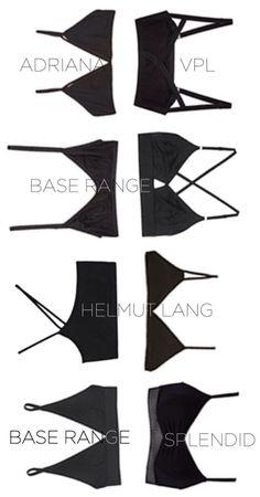 Black Bra Collection   Minimal + Chic   @CO DE + / F_ORM