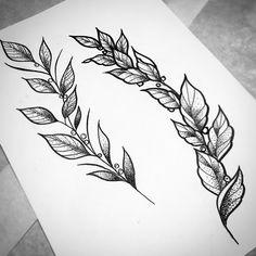 Одна из веточек уже забронирована, кому остальные?  #тату #татуэскиз #татуировка #рисую #тольятти #тлт #веточка #ветка #графика #дотворк #листья #ягоды #эскиз #рисунок #tattoo #branchtattoo #draw #sketchtattoo #sketch #drawing #branches #leaves #graphics #graphicart #drawingtattoo #tlt #art #dotework #tattooart