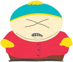 I love cartman (: and i love south park in general. lol.