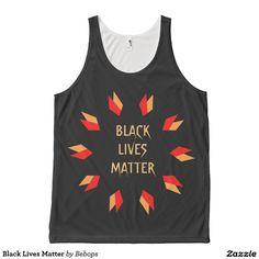 Black Lives Matter All-Over Print Tank Top
