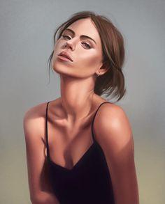 Face by Dmitry Uvarov