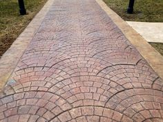 A stamped concrete driveway will add value to your home and stay in great condition for over 20 years. Description from difeliceconcrete.com. I searched for this on bing.com/images